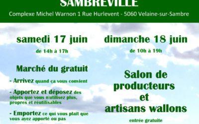 Stéphane Hazée prend part aux Journées vertes à Sambreville