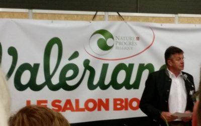 Salon Valériane: il est essentiel de soutenir le développement du bio…
