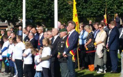 Ce dimanche 17 septembre, Stéphane Hazée représentait le Parlement de Wallonie à la Cérémonie du Souvenir à Namur