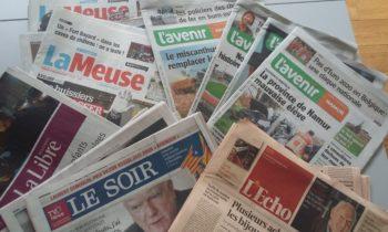 Projet de fusion de L' Avenir et Sudpresse : Stéphane Hazée s'inquiète et interpelle le ministre sur l'avenir de la presse écrite