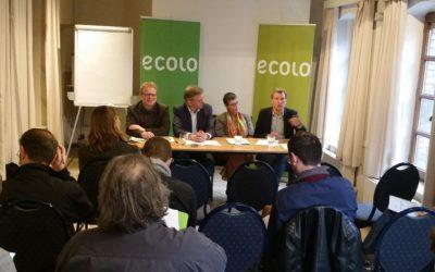Plus que jamais en 2018, Ecolo veut porter une voix alternative et montrer la voie vers une Wallonie plus verte, plus juste et plus démocratique