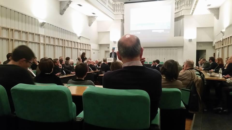 Stéphane Hazée participait aux voeux du CESW à Liège