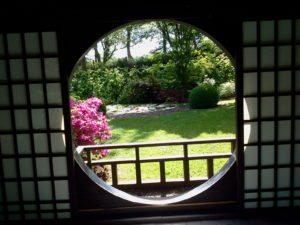 Photo du pavillon japonais Bambois