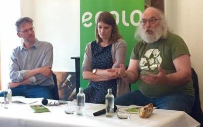 Stéphane Hazée en rencontre-débat sur la Gouvernance wallonne à Thuin