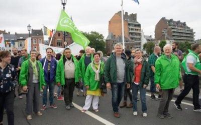 Réforme des APE: Ecolo présent à la manifestation du 25 juin