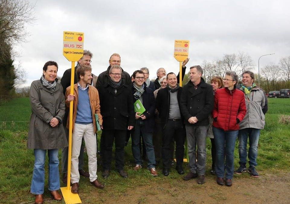 Projet de ligne express entre Liège et Marche-en-Famenne : selon Ecolo, le Gouvernement MR-CDH enclenche la marche arrière