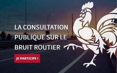 """Jusqu'au 5 novembre 16h : consultation publique """"Bruit routier en Wallonie"""""""