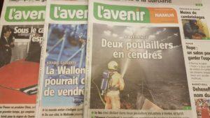 Image avec plusieurs journaux de l'Avenir de la semaine du 22 octobre 18.
