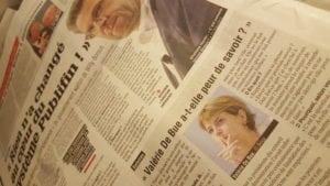 """Copie de l'article de la Meuse""""Rien n'a changé"""""""
