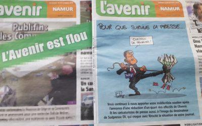Editions de L'Avenir: face aux nouvelles menaces, Ecolo demande à nouveau au Gouvernement wallon d'agir