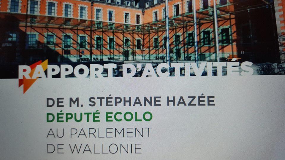 Le rapport parlementaire de Stéphane Hazée est en ligne