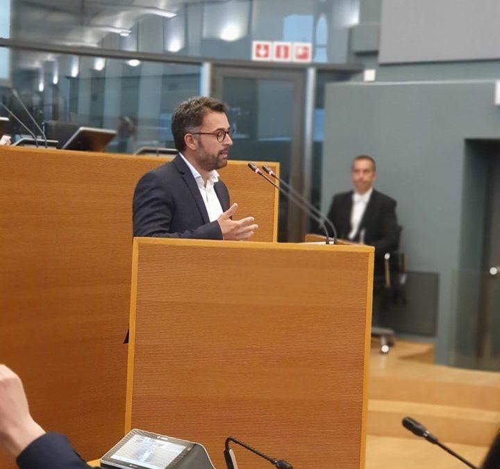 Rentrée politique au Parlement de Wallonie: le député Christophe Clersy pose sa première question d'actualité sur 'l'affaire Salden' à l'ISPPC