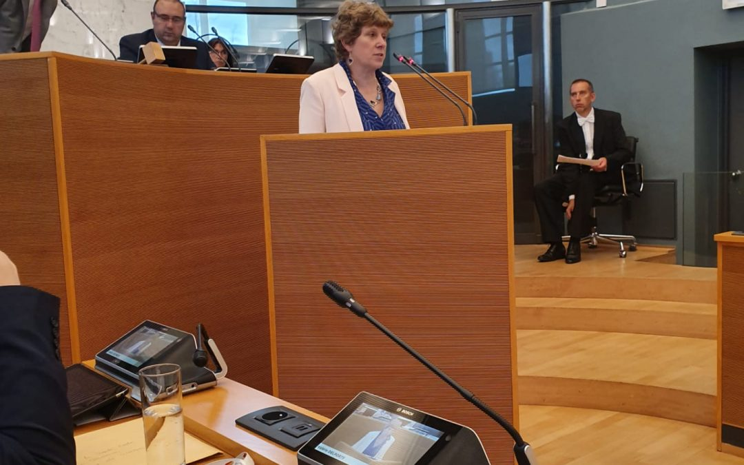 Perturbateurs endocriniens: Valérie Delporte, députée Ecolo, pose une question urgente sur les taux d'imprégnation de la population wallonne