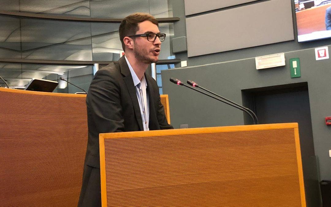 Séance plénière de rentrée: Déclaration d'Intérêt Régional de Monsieur Olivier Bierin sur Nethys Enodia Publifin